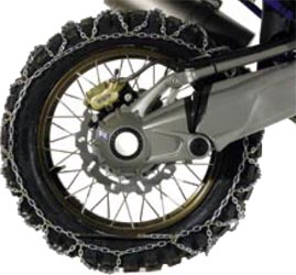 Motorcycle Snow Chains